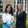 Photo of Dr Chrystalina Antoniades and Dr Elizabeth Tunbridge