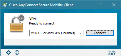 VPN for Journals